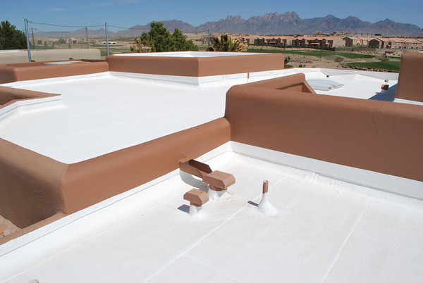 Residential roofing contractors tucson west coast roofing for Most reflective white paint