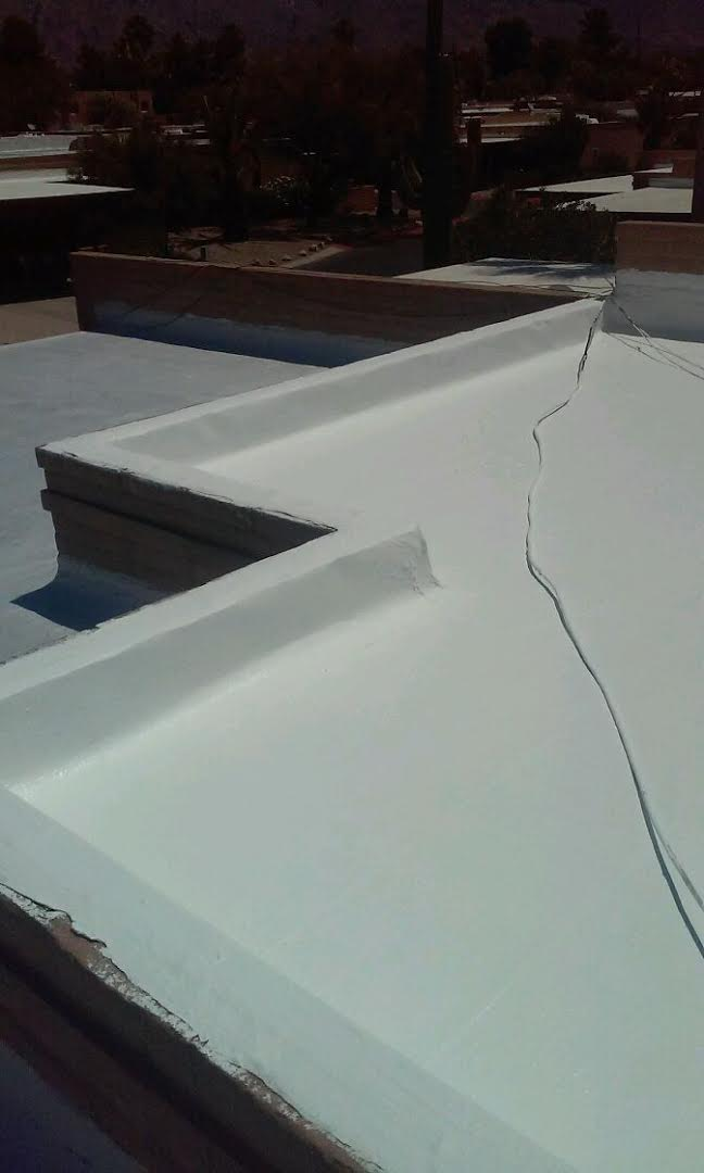 West Coast Roof Flattroof Repair After West Coast Roofing